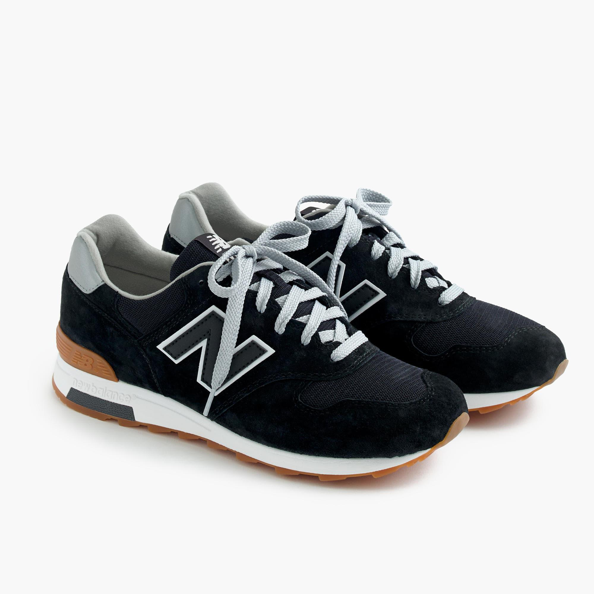 New Balance Suede 1400 Sneakers In Black - Lyst