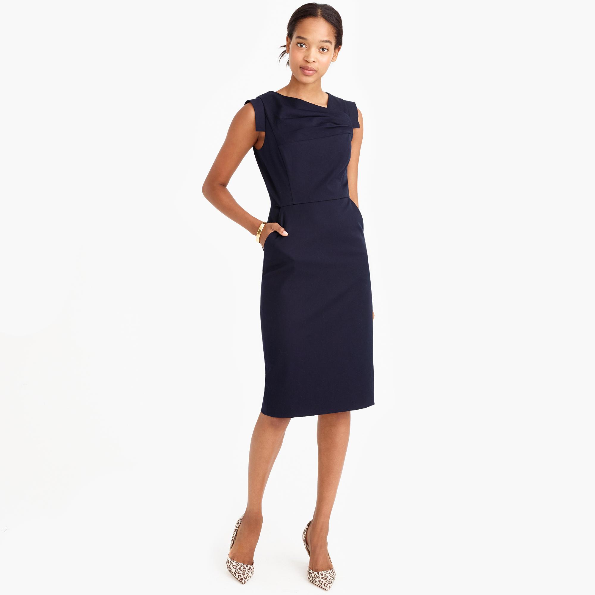 JCrew Promotion Dress in Black  Lyst