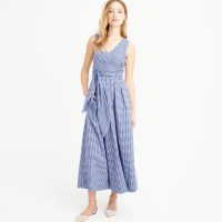 J.crew Collection Thomas Mason Gingham Dress in Blue | Lyst