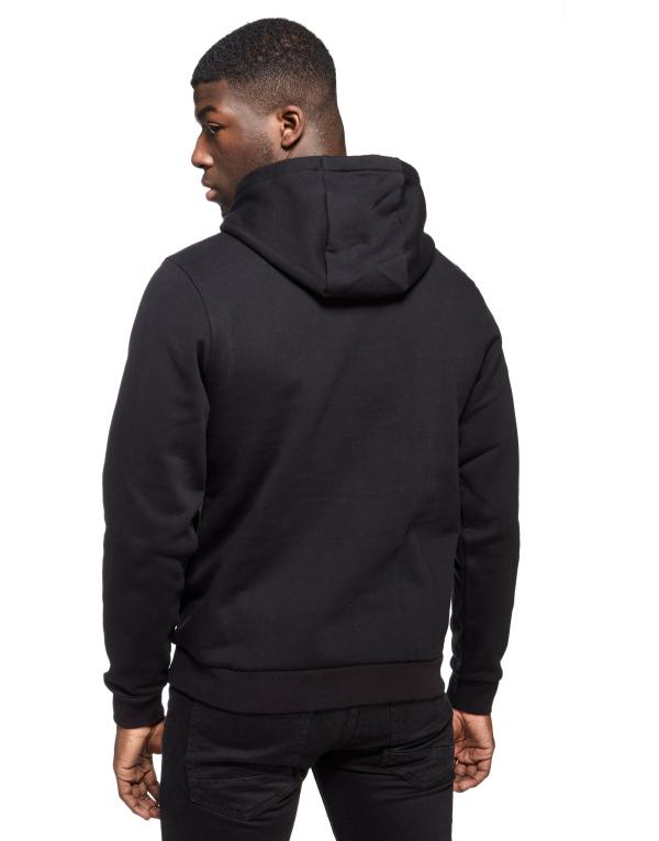 Lacoste Premium Fleece Hoody In Black Men - Lyst