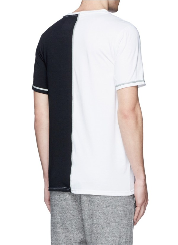 Lyst - Icny Slice' Reflective Seam T-shirt In Black Men