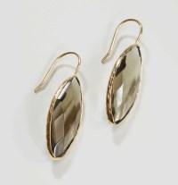 Loft Faceted Stone Drop Earrings | Lyst