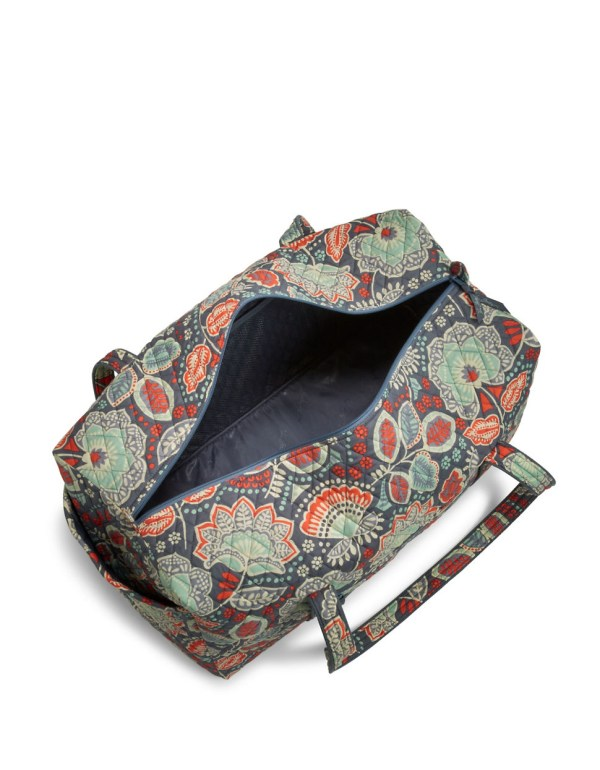 Lyst - Vera Bradley Large Quilted Duffel Bag In Blue