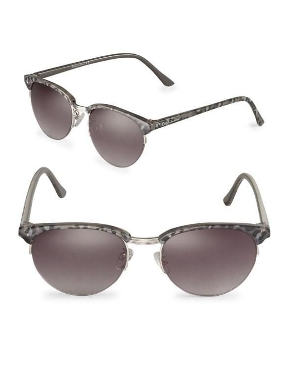 Lyst - Circus Sam Edelman 55mm Sunglasses In Metallic