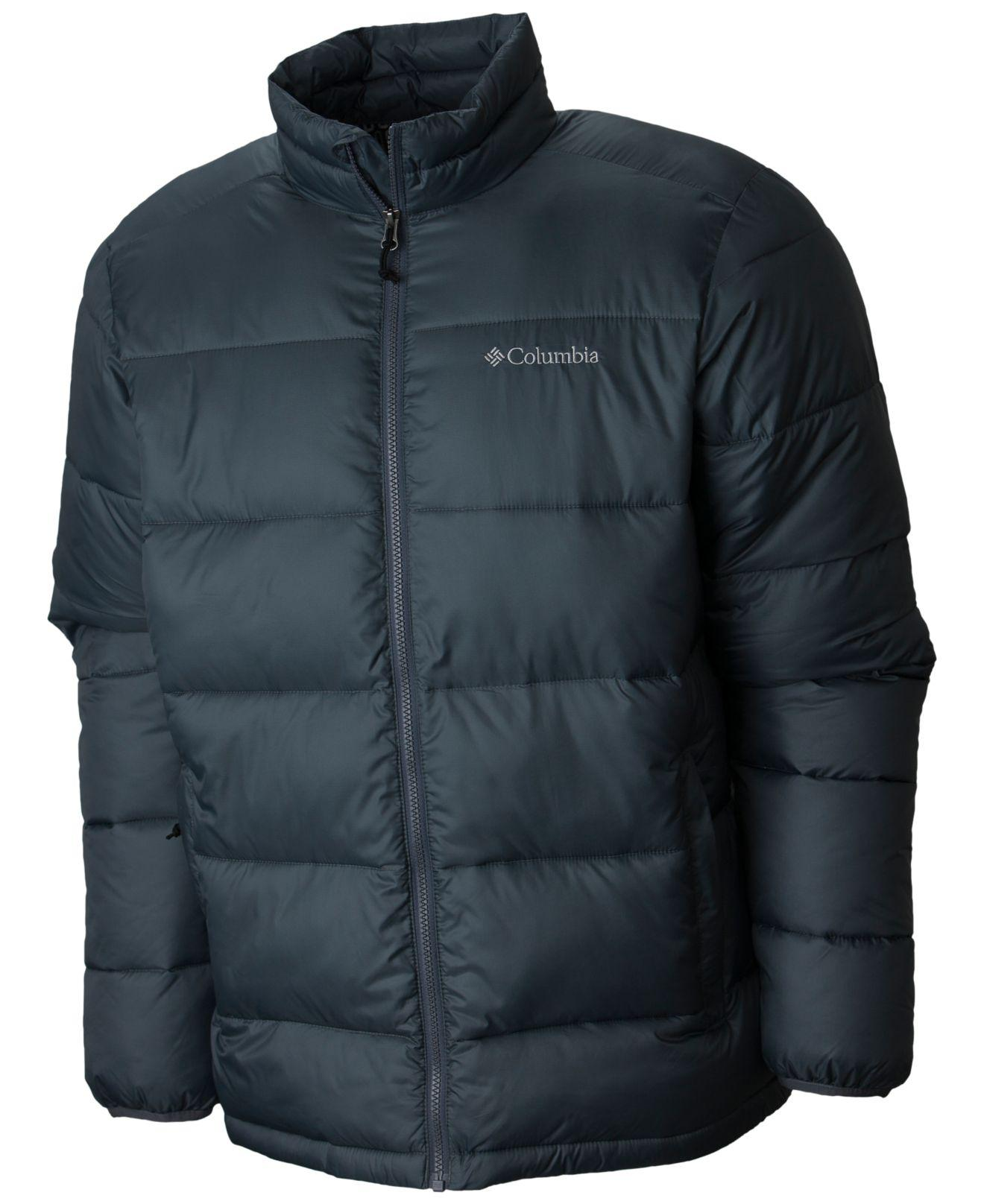 Columbia Synthetic Rapid Excursion Thermal Coil Jacket in Graphite (Blue) for Men - Lyst