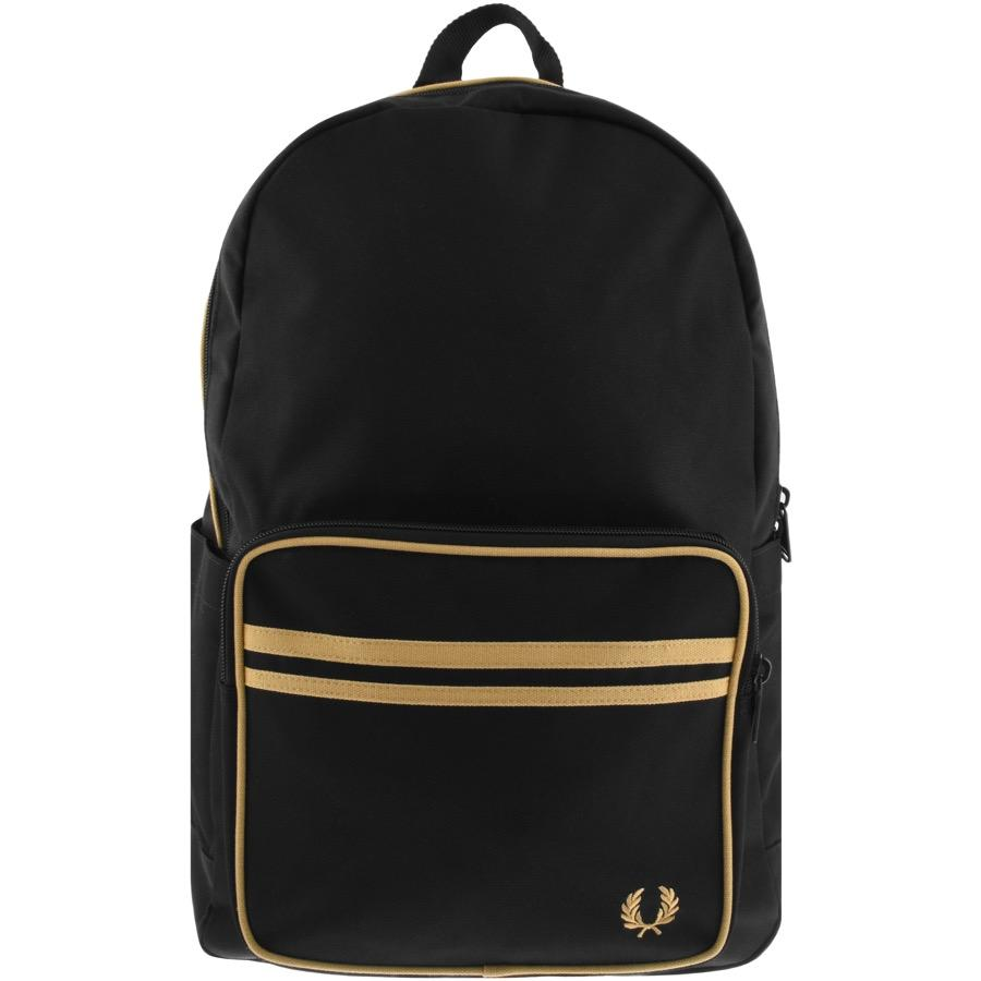 Fred Perry Synthetic Twin Tipped Backpack in Black for Men - Lyst