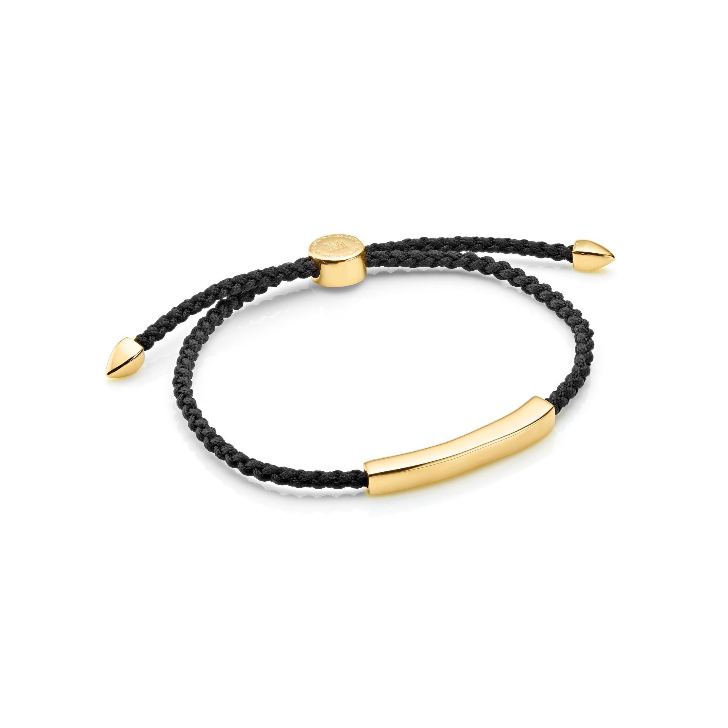 Monica Vinader Linear Men S Friendship Bracelet In