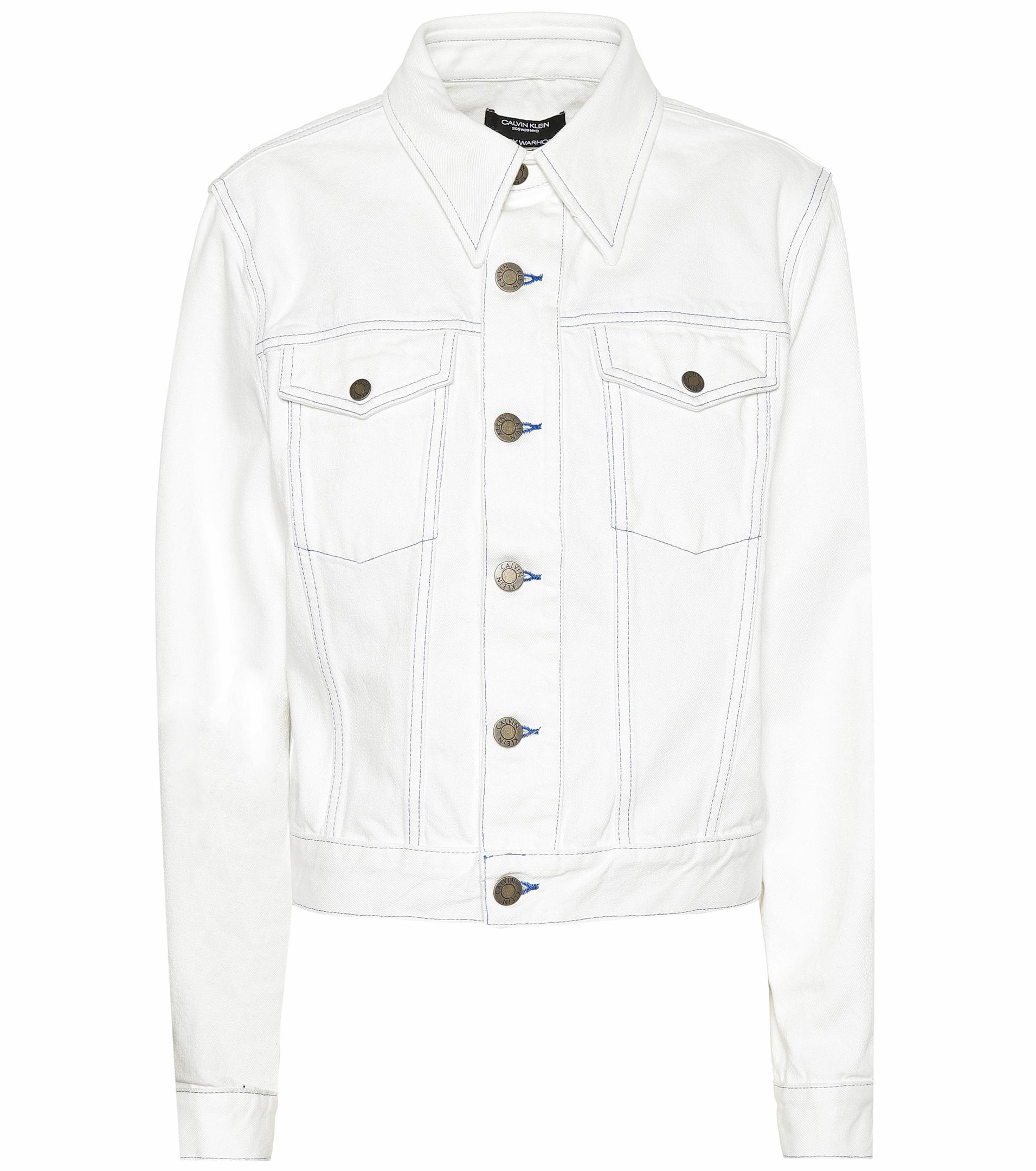 Shearling Denim Jacket Womens