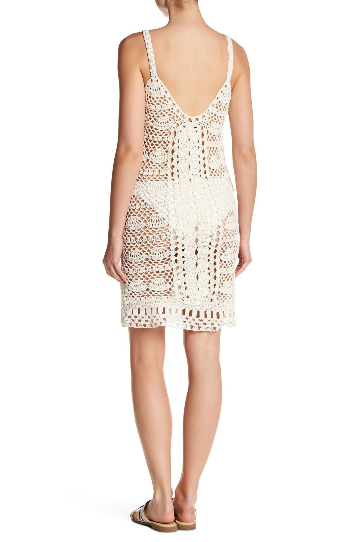 Lyst Cleobella Kiini Crochet Knit Dress In White