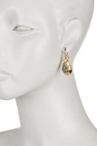 Melinda maria Athena Drop Earrings in Metallic