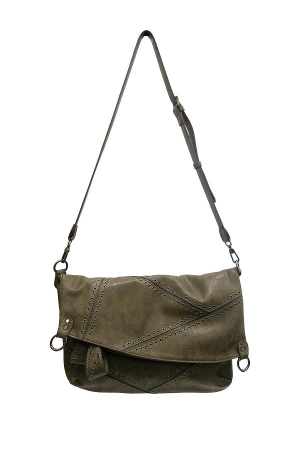 Chinese Laundry Synthetic Jennifer Messenger Bag In Olive