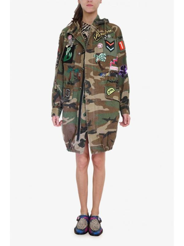 Marc Jacobs Camouflage Anorak Lyst
