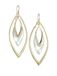 Alexis bittar Lucite Orbit Drop Earrings/silver in ...