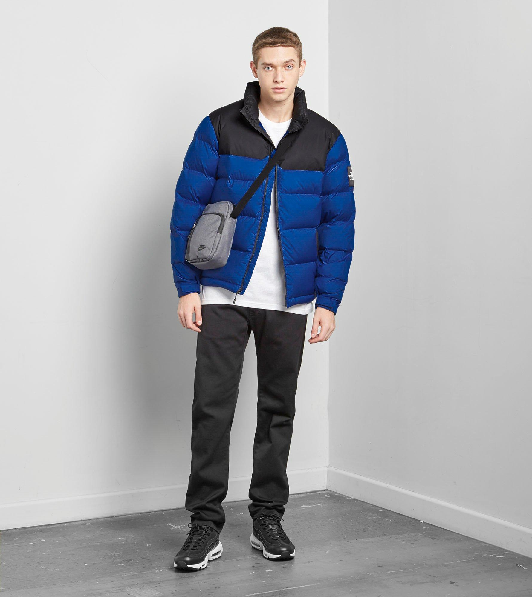 1992 nuptse jacket blue lyst the 1992 nuptse jacket in blue for b9f5b0bcd