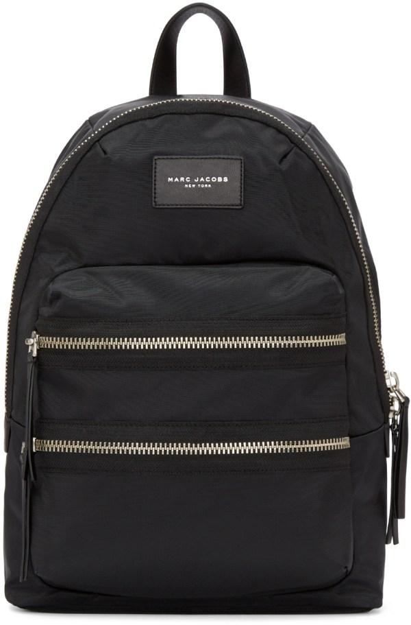 Marc Jacobs Black Nylon Biker Backpack In Lyst