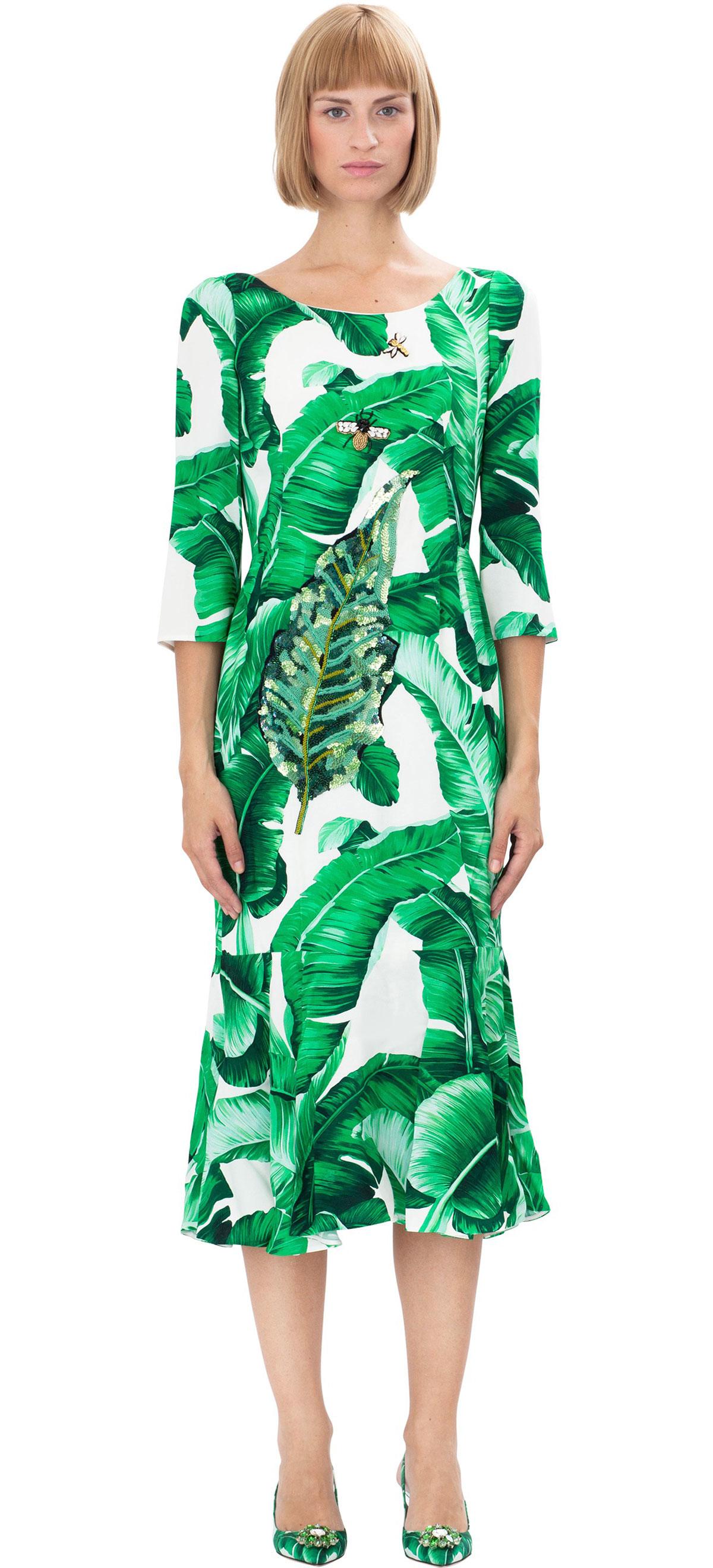 Banana Print Leaf Clothing