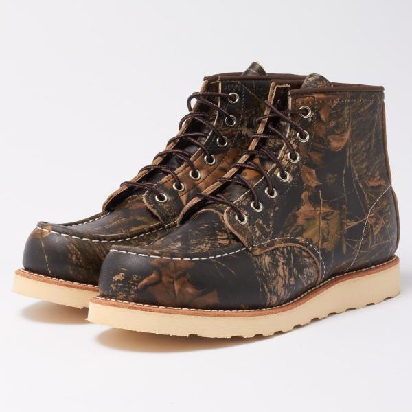 Red Wing Moc Toe 8884 Mossy Oak Camo Boots Men - Lyst