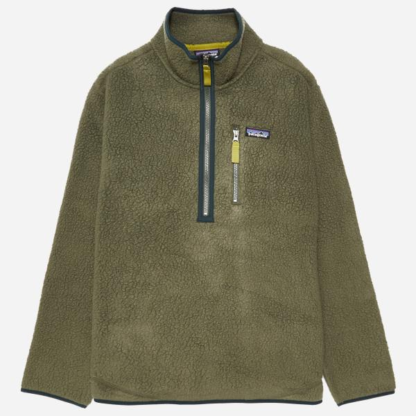 Patagonia Retro Pile Pullover Jacket In Green Men - Lyst