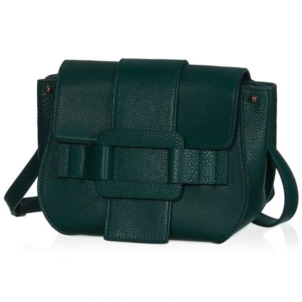 b4ae0527b2ef Roger Vivier Pilgrim De Jour Crossbody Bag In Green Lyst