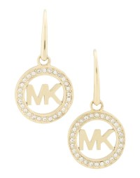 Michael kors Earrings in Gold | Lyst