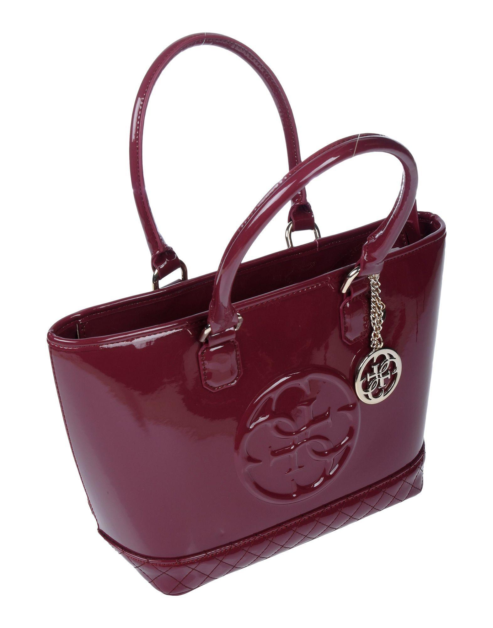 Guess Handbag in Deep Purple (Purple) - Lyst