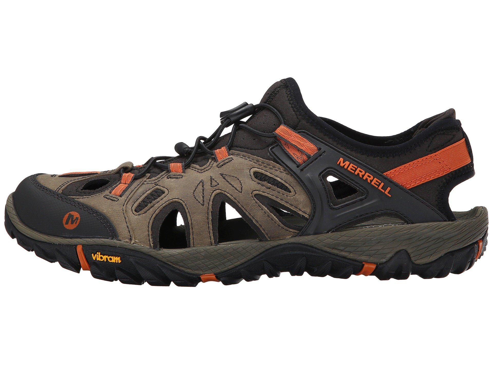Merrell All Out Blaze Sieve in Light Brown (Brown) - Lyst