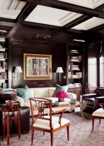 Traditional Library Office