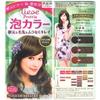 Kao Japan liese Prettia Bubble Foaming Hair Color Kit ...