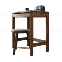 Decor8 Marlow Compact Wood Desk, Vanity Table and Dressing ...