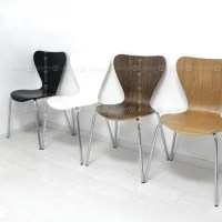 Decor8 Modern Furniture Scandinavian Plywood Stackable Chair