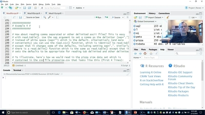 Reading Data Into R - Part 2 (read.csv() and read.fwf()) - University of Georgia Online Learning