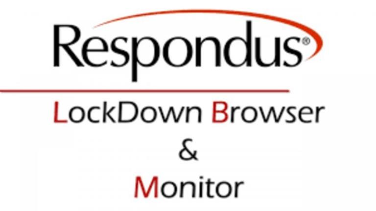 Respondus Lockdown Browser Webcam