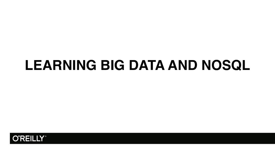 Learning Path: Architect and Build Big Data Applications