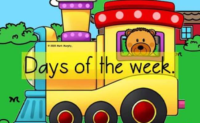 Days Of The Week Teaching Powerpoint By Eye Popping Fun