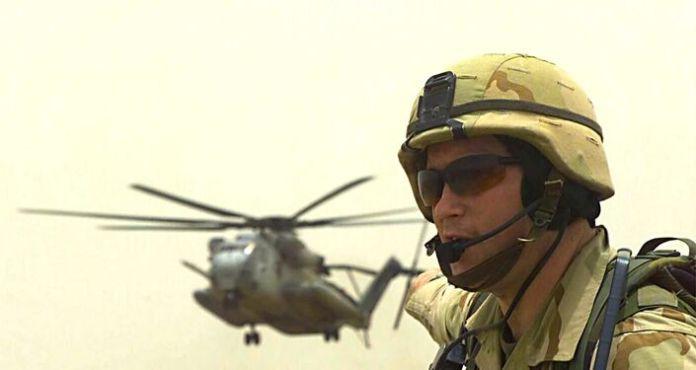 Marines soldier - US Army
