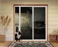 Sliding Doors with Pet Access   Custom Home Magazine ...