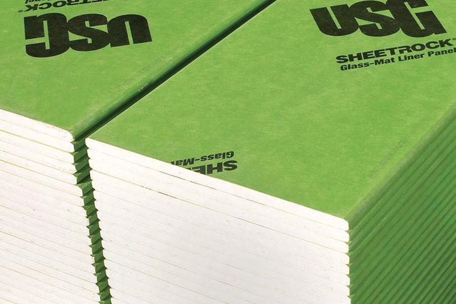 USG Sheetrock GlassMat Liner Panels  Architect Magazine  Building Materials Fire Safety