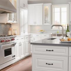 American Woodmark Kitchen Cabinets Standard Faucets Parts Timberlake Cabinetry Maple Auburn Glaze And Painted