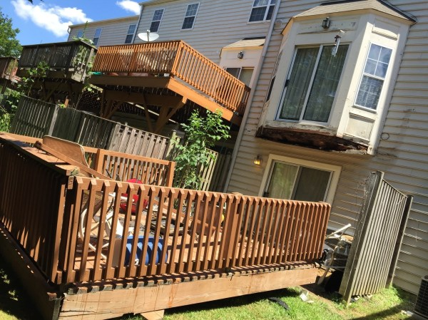 Wood Deck Collapse