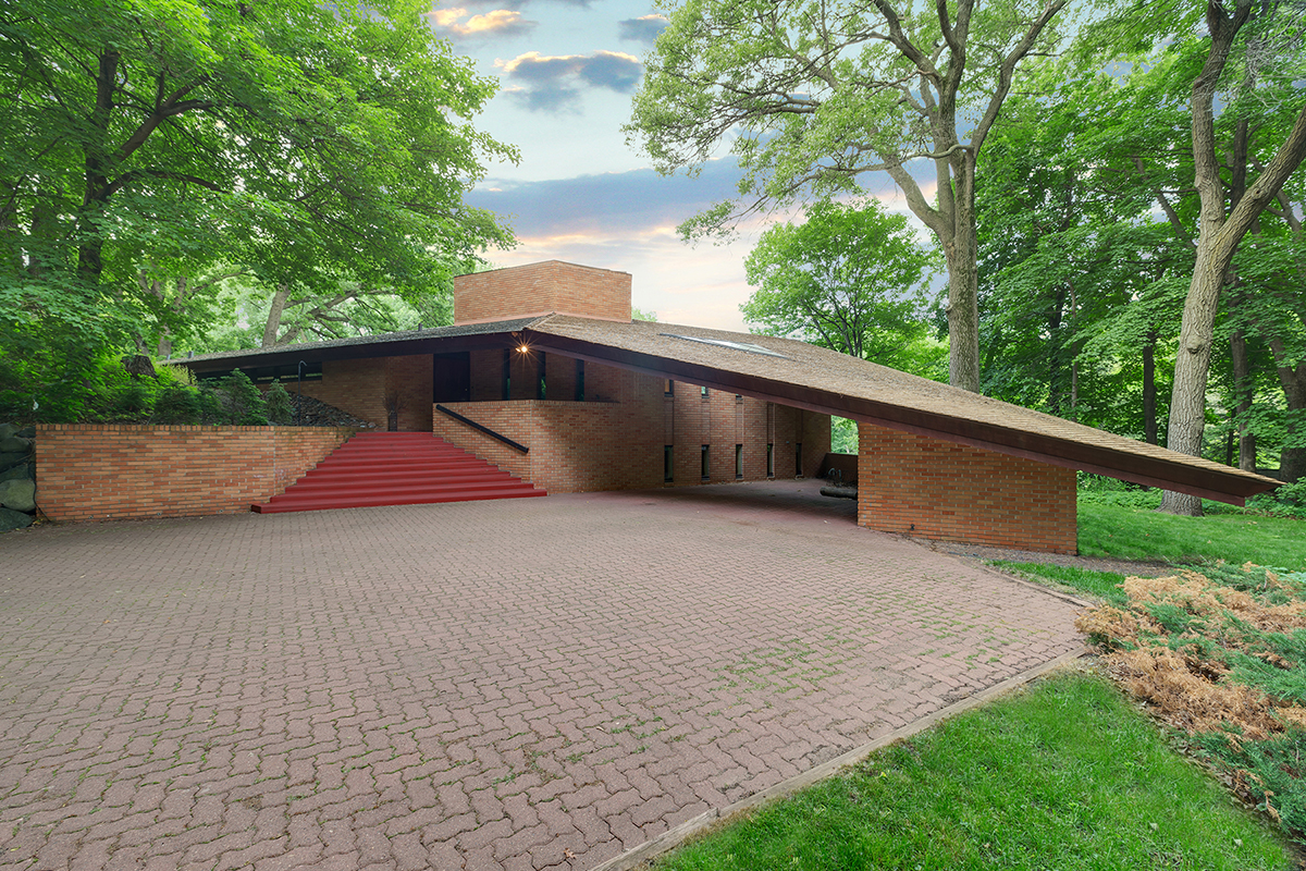 Frank Lloyd WrightDesigned House Listed in St Louis Park Minn  Residential Architect