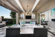 Open-air California Rooms Add Luxury Element Outdoor