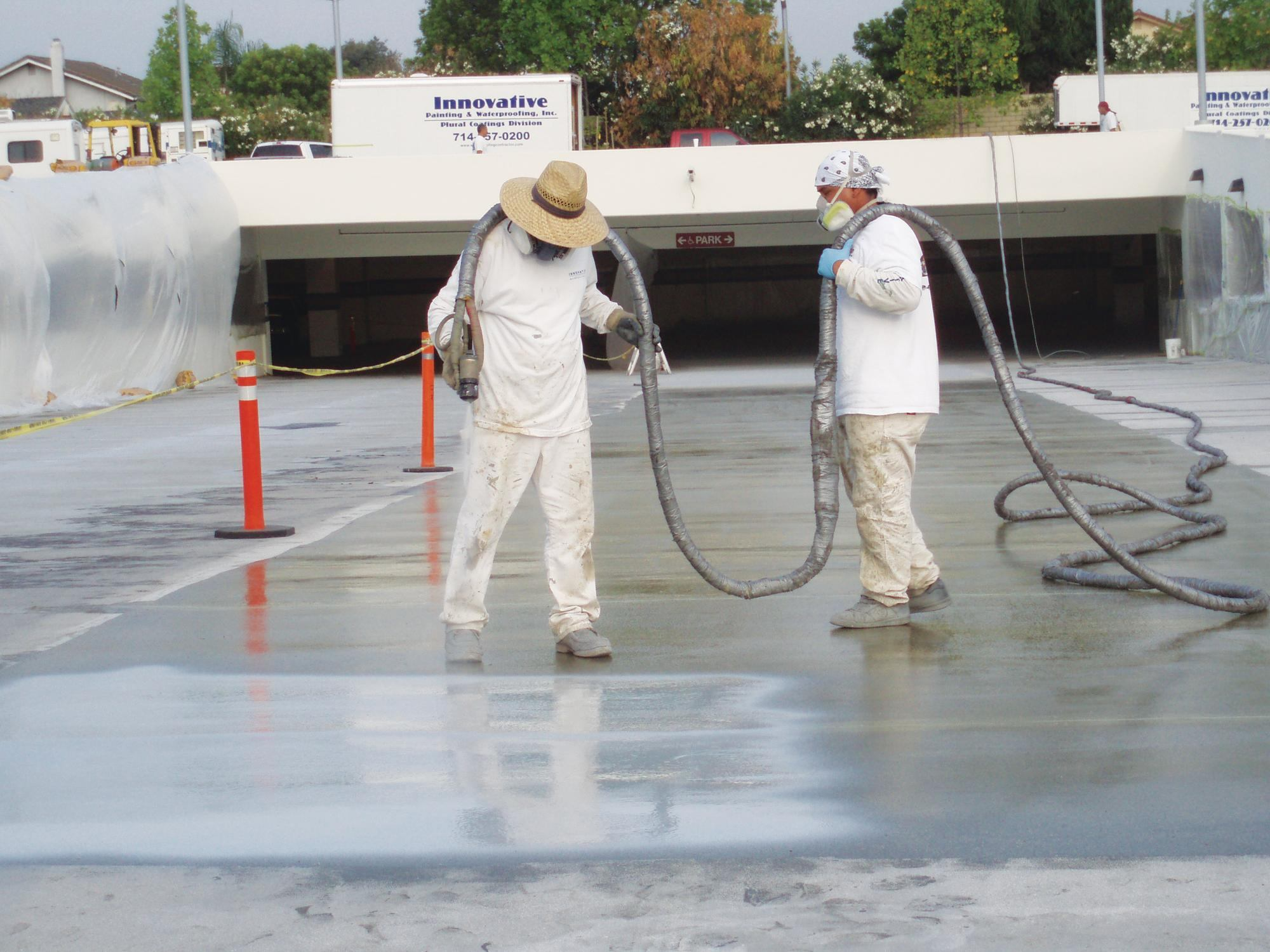 Applying Polyurea Coatings Concrete Construction Magazine