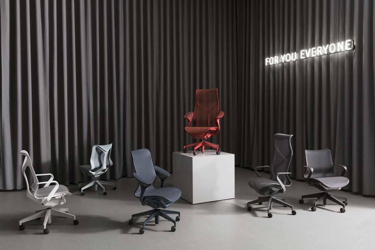 Herman Miller Debuts Studio 75s Cosm Task Chair Line