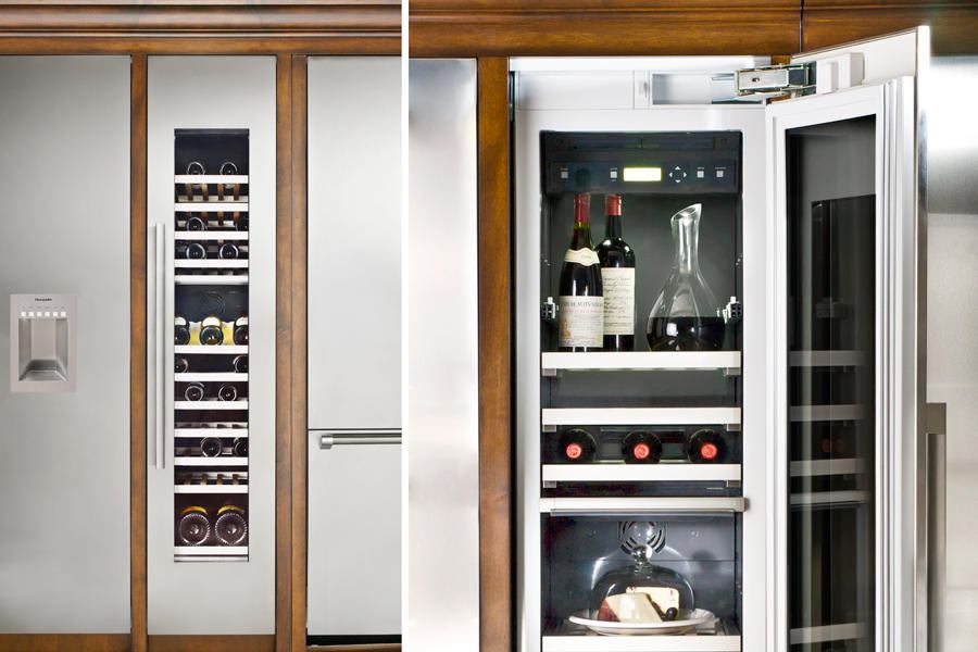 Freedom Wine Columns By Thermador Custom Home Magazine Appliances Kitchen Products Thermador