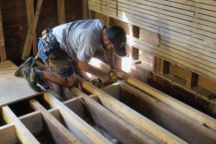 New Joists for an Old Floor  JLC Online  Framing
