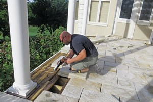 Could Stone Paver Decks Compete With Wood and Composites  Remodeling  Stone Decks Pavers