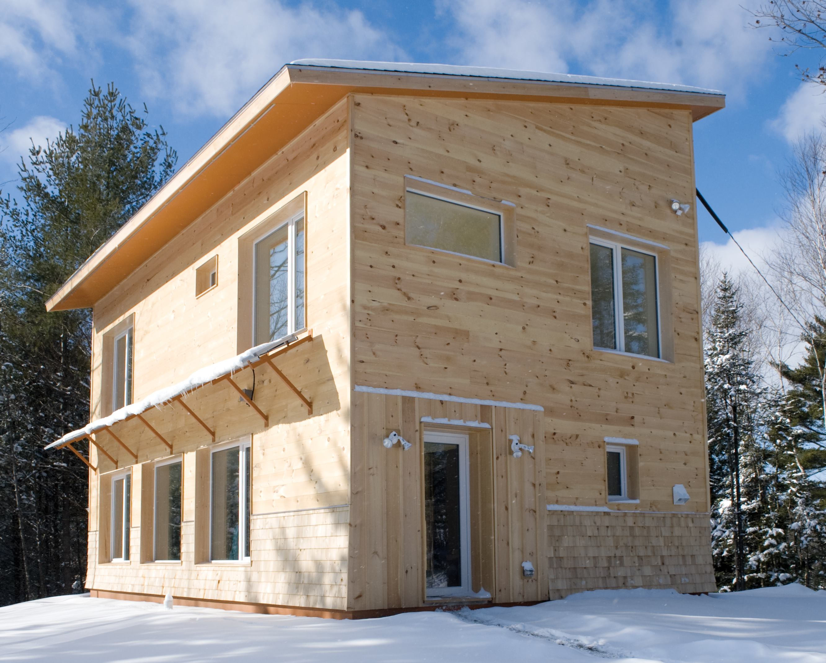An Affordable Passive House  Part 1  Airtight and Super