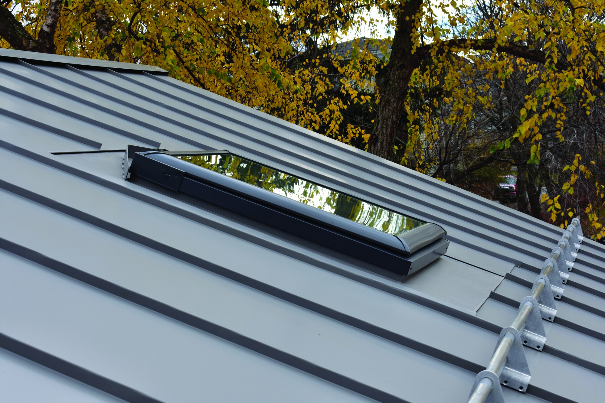 Skylights For Metal Roofs