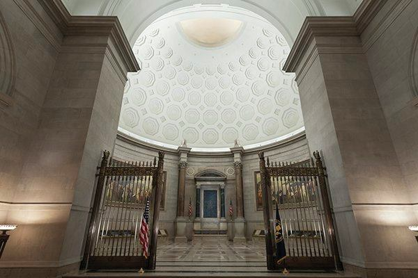 2014 AL Design Awards Rotunda for the Charters of Freedom National Archives Museum Washington