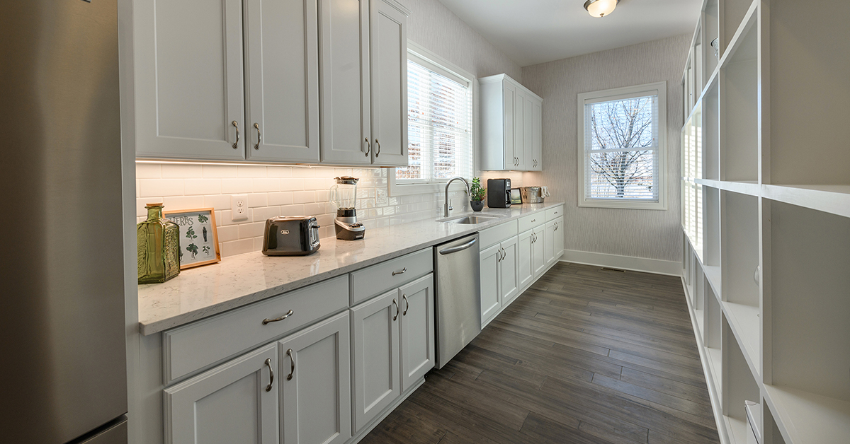 Open Concept Kitchen Dining Room Flooring